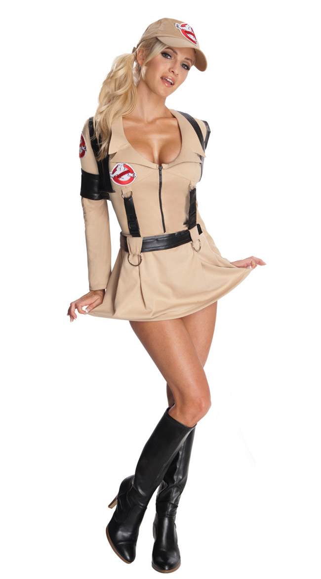 Sexy Ghostbuster Costume Womens Ghostbuster Costume Adult