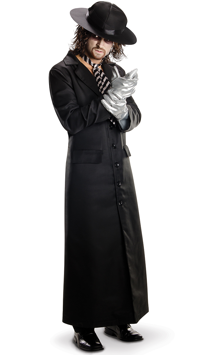 mens grand heritage undertaker costume by rubies costumes size m undertaker halloween costume