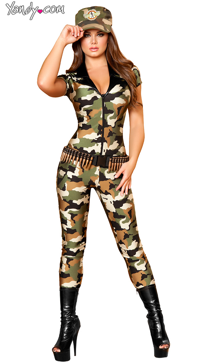Even more sexy military halloween costume that necessary