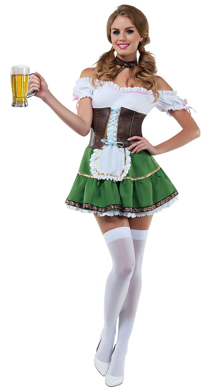Diy German Beer Maid Costume