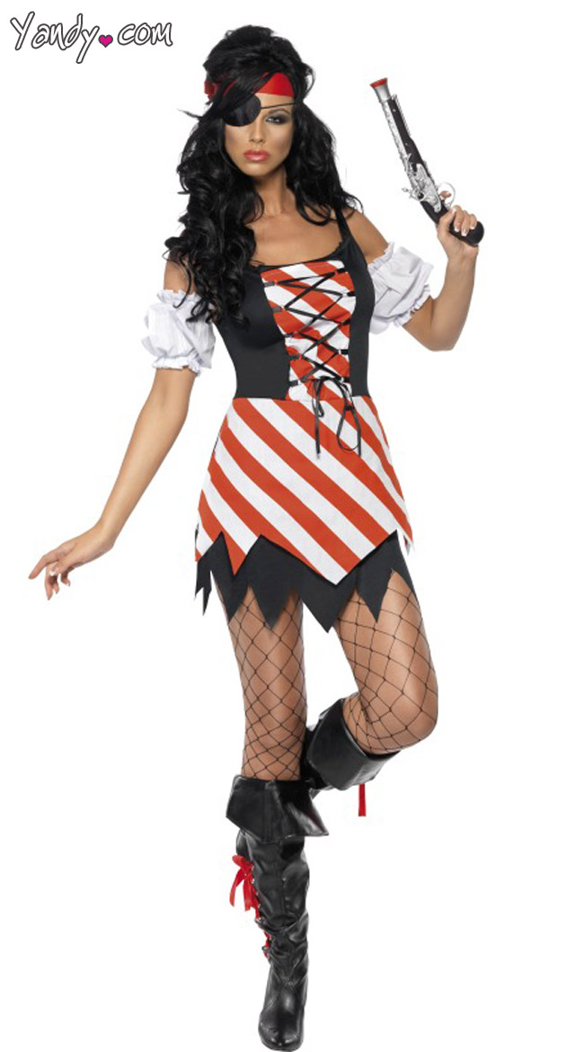 Horney Naked Naked Pirate Costumes For Women