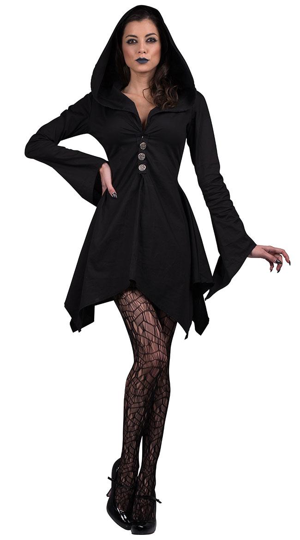 Salem Witch Costume Witch Robe Costume Witch Dress Costume