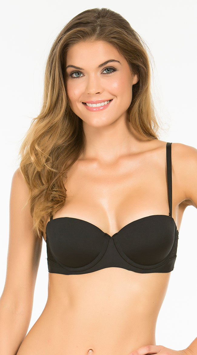 905646711f Womens Smooth Elegance Black Multi-way Bra