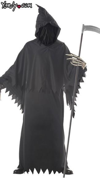Grim Reaper Costume - Black