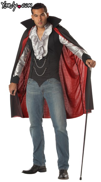 Very Cool V&ire Costume  sc 1 st  Yandy & Very Cool Vampire Costume Cool Transylvania Vampire Costume Adult ...