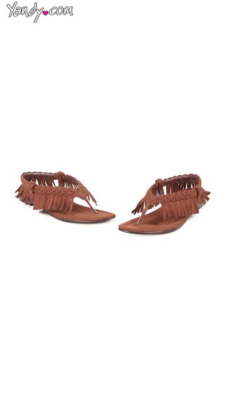 Braided Fringed Tassel Flats, Womens Flat Sandals, Moccasin Sandals