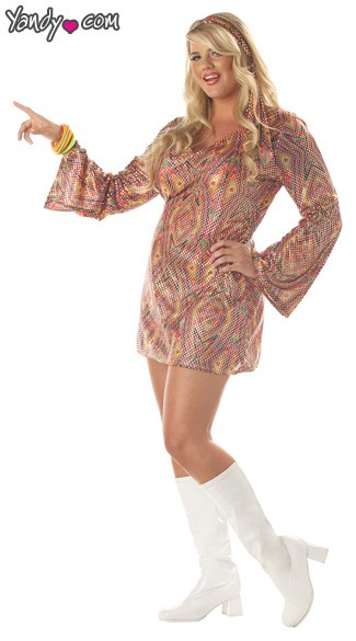 Plus Size Disco Dolly Costume  sc 1 st  Yandy : disco girl halloween costume  - Germanpascual.Com