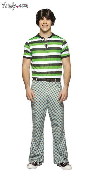 Bobby Brady Costume - Green