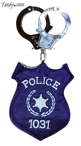 Police Badge Purse - Blue