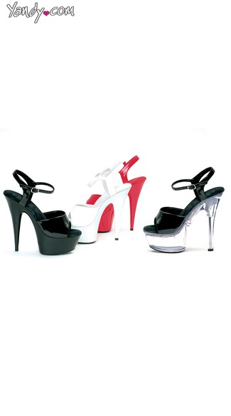 Pointed Stiletto Platform Sandals, Platform Stiletto Shoes - Yandy.com