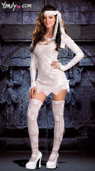 bb9854fc513 Sexy Mummy Costume - White