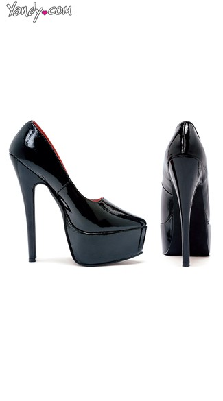 "6.5"" Stiletto Heel Pumps, High Heel Pumps with Platform - Yandy.com"