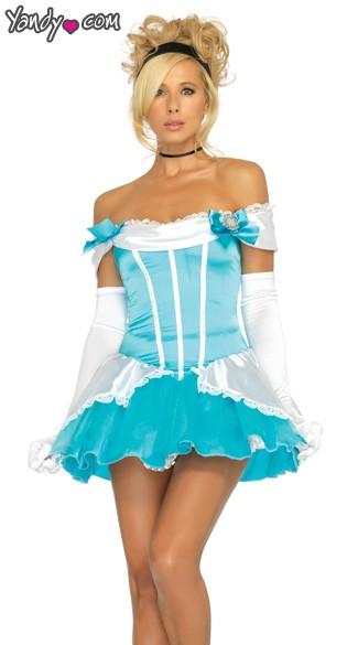 Sexy Cinderella Costume  sc 1 st  Yandy & Glass Slipper Princess Costume Sexy Cinderella Costume Adult ...