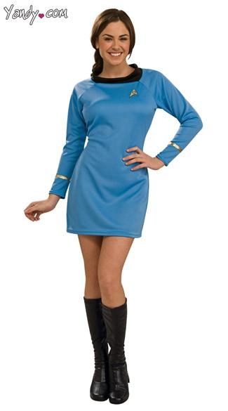 Star Trek Deluxe Sci Uniform Costume  sc 1 st  Yandy & Star Trek Deluxe Sci Uniform Costume Sexy Womens Star Trek Costume