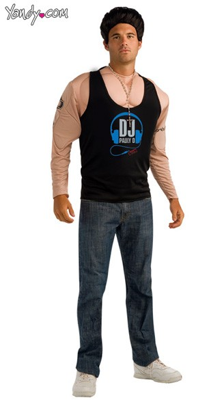 Deluxe Pauly D Costume - As Shown