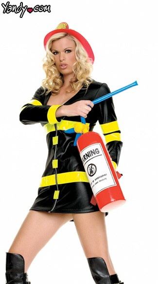 Inflatable Fire Extinguisher - Red