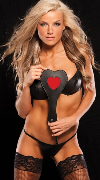 Red True Love Paddle - Black/Red