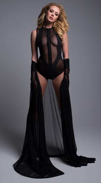Skye Sleeveless Bodysuit - Black