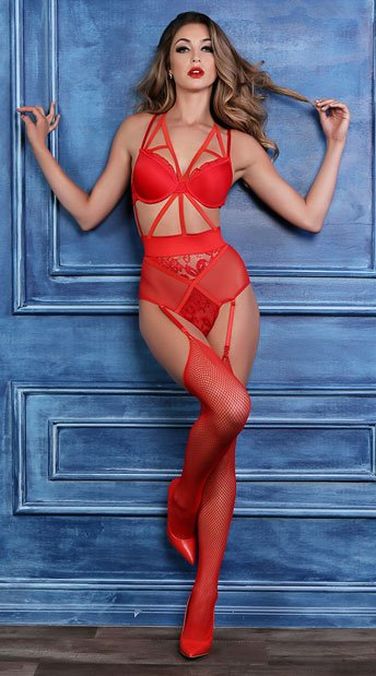 Freya Angel of Love Teddy - Red