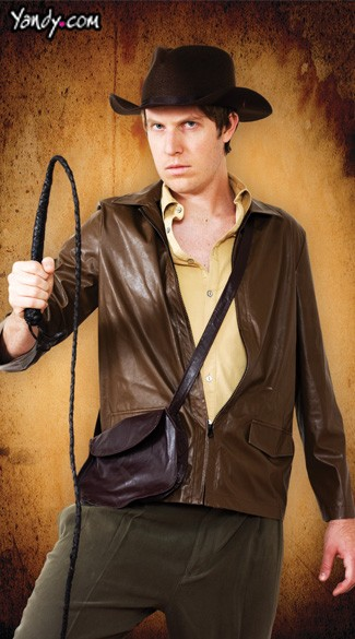 Menu0027s Indiana Jones Costume  sc 1 st  Yandy & Adventure Jones Costumes Adult Indiana Jones Costume Mens Indiana ...