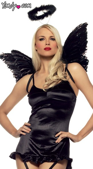 Angel Accessory Kit, Angel Wings, Angel Wings and Halo, Leg Avenue