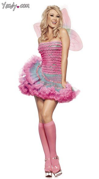 Rainbow Fairy Costume  sc 1 st  Yandy : pink fairy costumes for adults  - Germanpascual.Com
