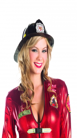 Smokin' Hot Firefighter Hat - Black