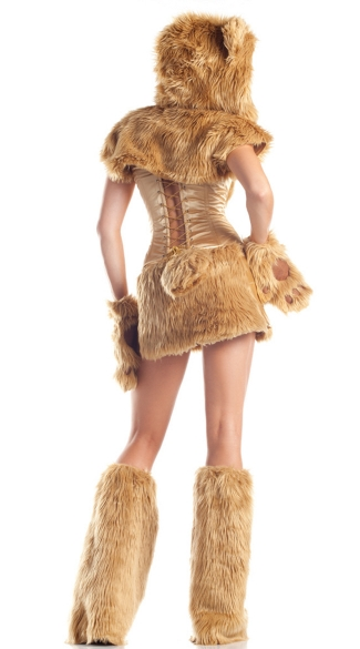 Golden Bear Beauty Costume - Beige