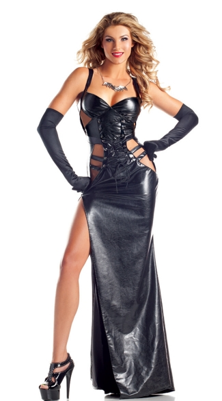 Gothic Goddess Costume - Black