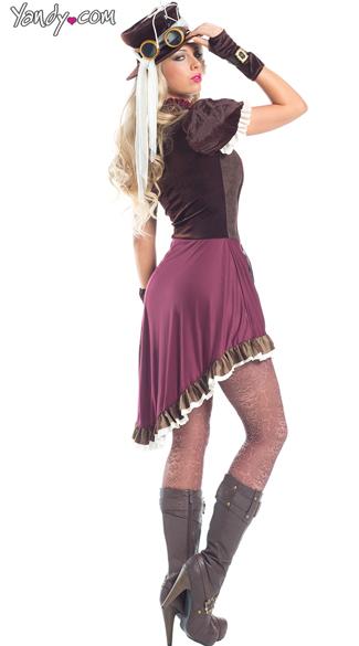 Steampunk Rider Costume - As Shown