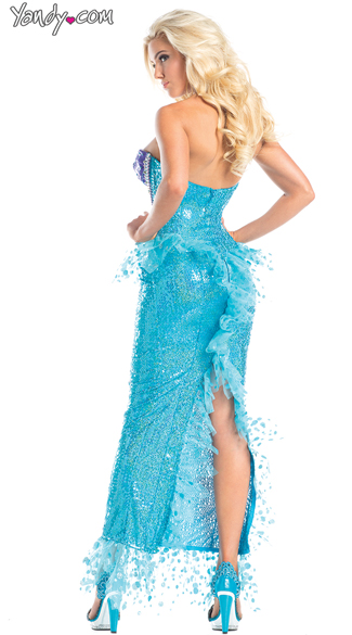 Under the Sea Mermaid Costume - As Shown