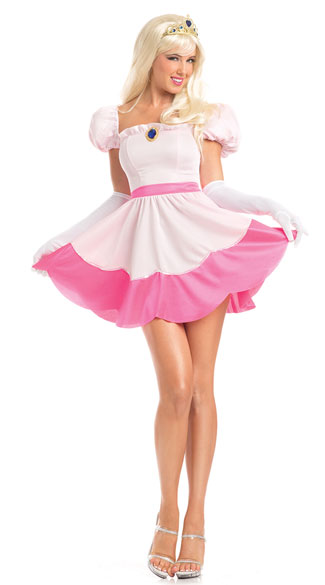 Perilous Princess Costume Sexy Pink Princess Costume Video Game Princess Costume  sc 1 st  Yandy & Perilous Princess Costume Sexy Pink Princess Costume Video Game ...