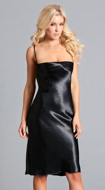 df145cac296 Elena Seduction Slip Dress - Black ...