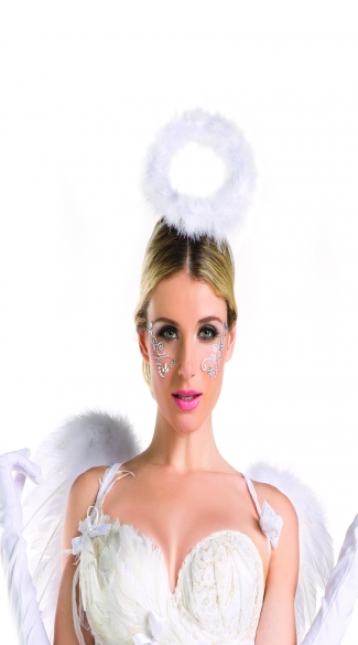 Girly Angel Halo, Pretty Angel Costume Accessories, Adult Costume Angel Halo