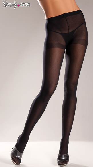 Show Stopper Pantyhose, Colorful Sexy Pantyhose, Seductive Opaque Stockings