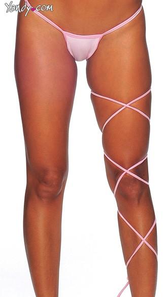 Spaghetti Body Wrap - 60 inch - Baby Pink
