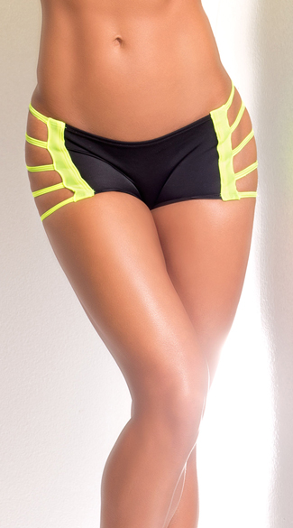 Dangerous Bridge Athletic Short, Activewear Shorts, Dance Shorts