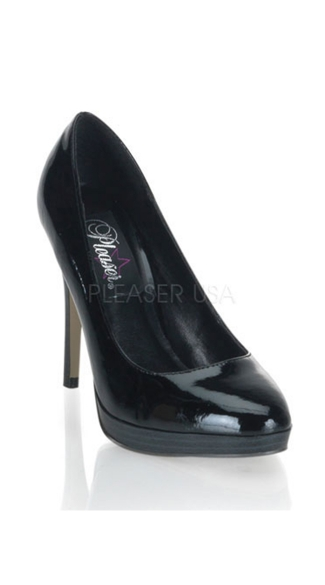 Simply Bliss Mini Platform Pumps - Black