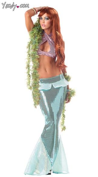 Sexy Mermaid Costume - Green