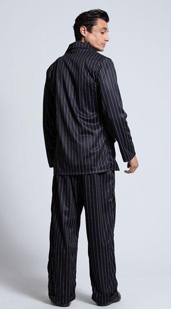 Men's Mob Boss Costume - Black