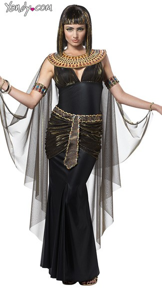 Cleopatra Costume, Cleopatra Halloween Costume, Egyptian Costume