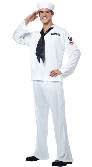 Men\'s Sailor Costume, Male Sailor Costume