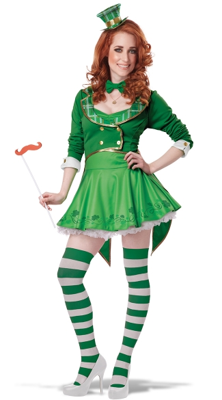 Sexy Lucky Charm Costume, Sexy Leprechaun Costume, Sexy St. Patrick\'s Day Costume