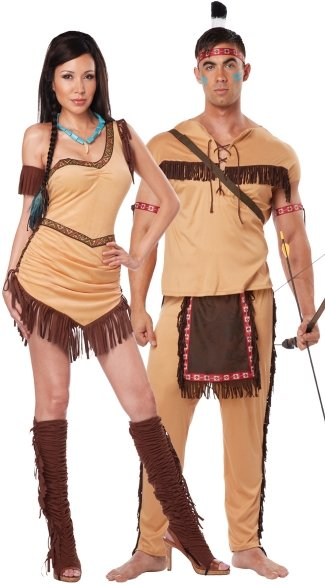 Men\'s Native American Brave Costume, Men\'s Indian Costume, Men\'s ...