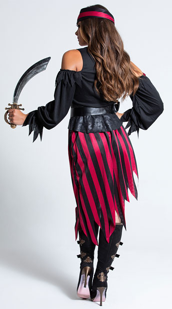 Queen of The High Seas Costume - as shown