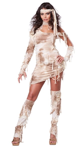 Sexy Mystical Mummy Costume, Sexy Mummy Costume, Sexy Egyptian Costume