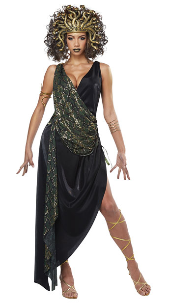 Sexy Sedusa Costume - Green
