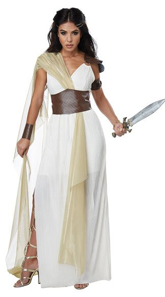 Spartan Warrior Queen Costume Warrior Princess Costume