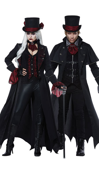 Dressed To Kill Costume, Voluptuous Vampire Costume -Yandy.com, Men\'s Out For Blood Costume, Men\'s Sexy Vampire Costume - Yandy.com