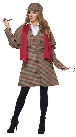fancy detective outfit for women wedding